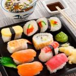 sushi-mellan